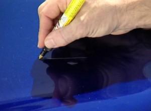 Como reparar arañazos de la carrocería del coche?